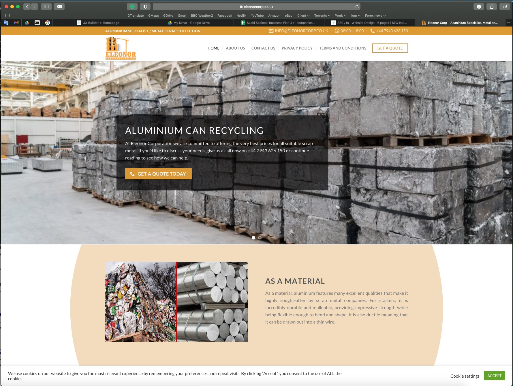 Construction and Building Service Company