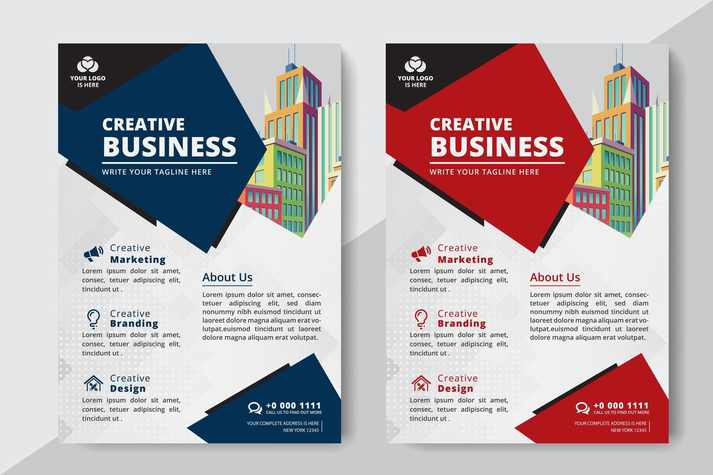 Business Flyer A4 Size